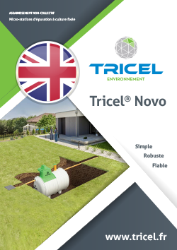 Tricel Novo brochure (in English)